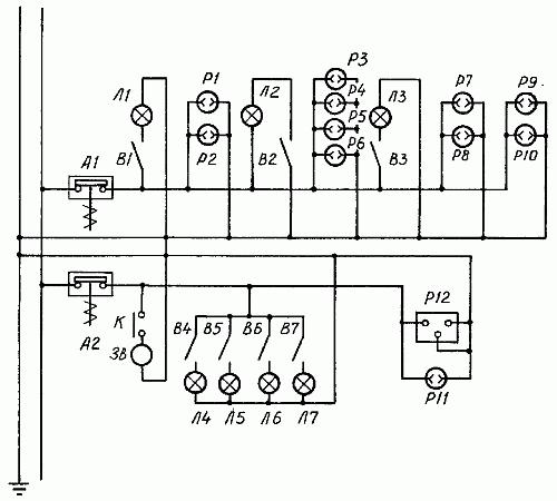 Газ 3102 схема электрическая
