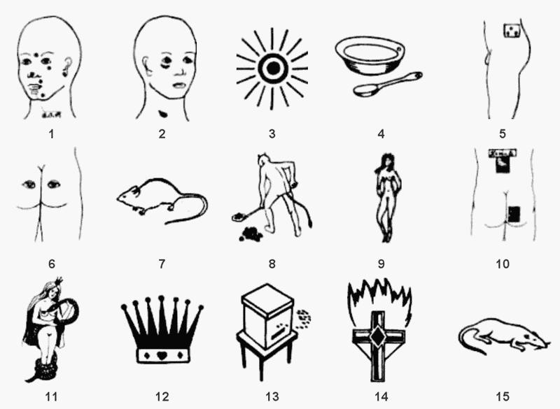 Татуировки проституток и их значение