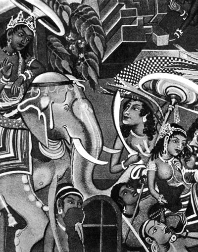Росписи стен в пещерах древних людей