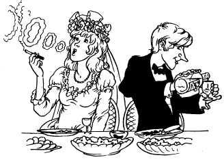 Если жених и невеста симпатичные к