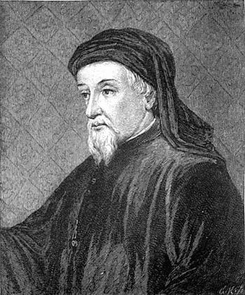 Джеффри Чосер  1340-1400 гг.