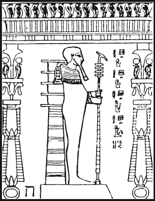 Горус – великий иерофаит рисунок