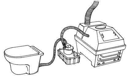 Рисунок 15 вакуумный туалет