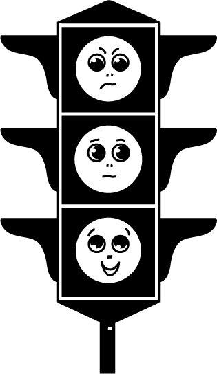 рисунок светофора: