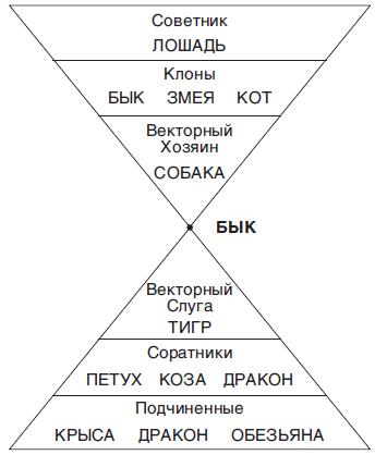 Деловая пирамида для Быка. Как выстроить коллектив. Кому подчиняться, а кем командовать