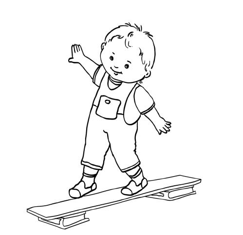 Рисунки ребенка в движение