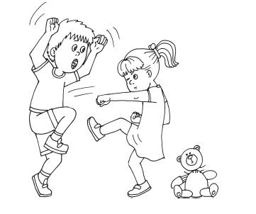 Правила поведения в школе раскраска 19