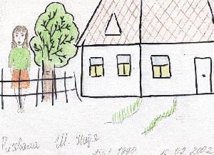 Анализ к рисунку дом дерево человек