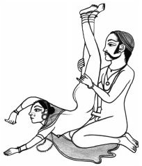 Описание позы лотос в сексе