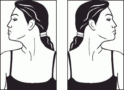 Наклоны головы вправо и влево картинка