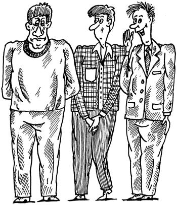 Типы личности в картинках