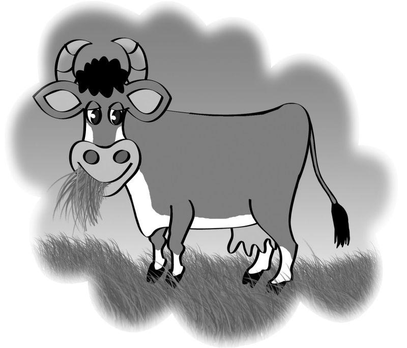 Картинки коровы мурки из простоквашино